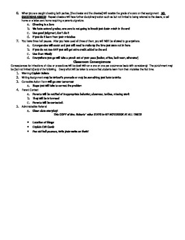 Policies and Procedures Packet