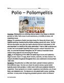 Polio Virus - Full History Facts Information - Jonas Salk vaccine Lesson