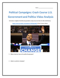 Political Campaigns: Crash Course U.S. Government and Politics Video Analysis