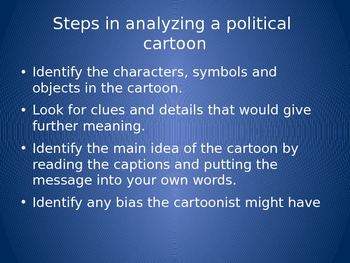 Political Cartoon Analysis Activity Higher Order Thinking