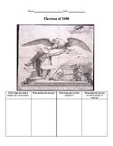 Political Cartoon Analysis Election 1800