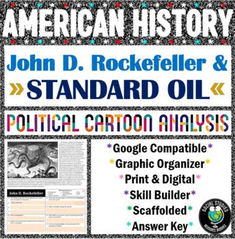 Political Cartoon Analysis - John Rockefeller