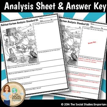 Political Cartoon Analysis Worksheet Answer Key - best ...