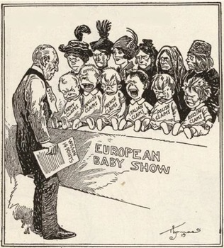 Political Cartoon Analysis: The 14 Points and Treaty of Versailles