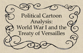 Political Cartoon Analysis: The 14 Points and Treaty of Ve