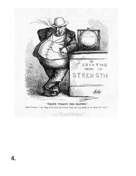Political Cartoon Assignment American History Boss Tweed Group Activity