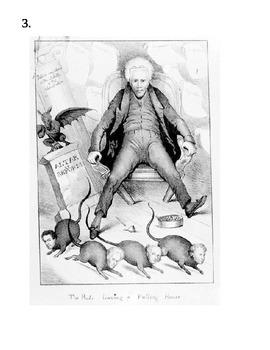 Political Cartoon Assignment American History Jackson Era Group Activity