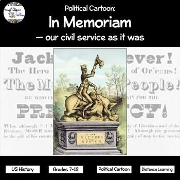 Political Cartoon: In Memoriam - our civil service as it was