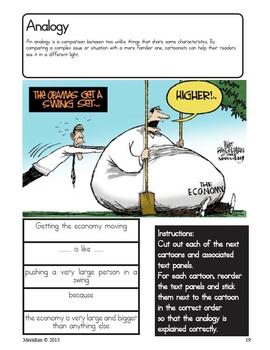 The Political Cartoon - Interactive Notebook