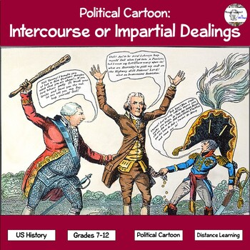 Political Cartoon: Intercourse or Impartial Dealings