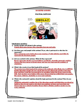 Political Cartoon Introductory Worksheet