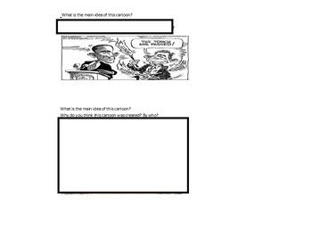 Political Cartoon Quiz