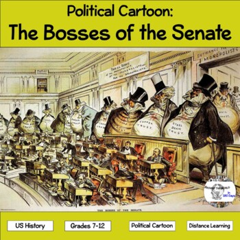 Political Cartoon: The Bosses of the Senate