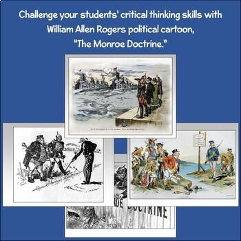 Political Cartoon: The Monroe Doctrine
