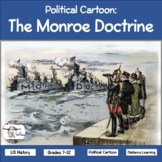 Political Cartoon: The Monroe Doctrine