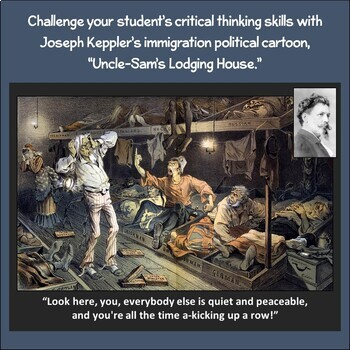 Political Cartoon: Uncle Sam's Lodging House
