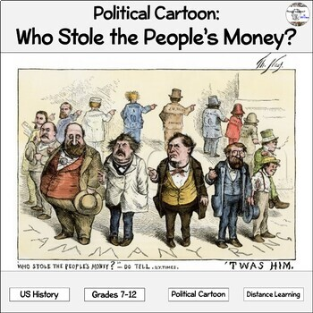 Political Cartoon: Who Stole the People's Money?