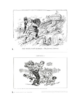 Political Cartoons: American Imperialism after Spanish American War