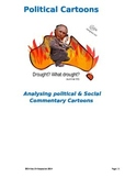 Political Cartoons: Analysing Political & Social Commentar