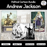 Political Cartoon Bundle: Andrew Jackson