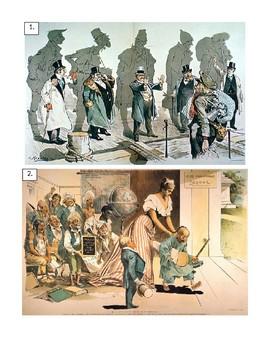 Political Cartoons: Immigration to America 1800's