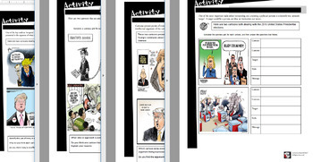 Political Cartoons (Teaching Students to Analyze Political Cartoons) Lessons