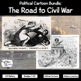 Political Cartoons: The Road to Civil War