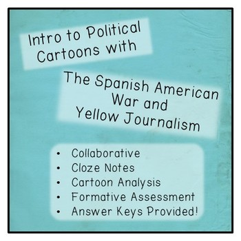 Political Cartoons: Yellow Journalism and the Spanish-American War