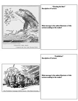 Political Cartoons of the Roaring Twenties