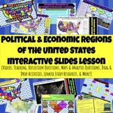Political & Economic Regions of United States (U.S.) Inter