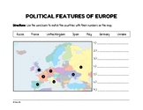 FREEBIE: Political Features of Europe (Worksheet)
