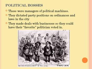 Political Machines/Populist Party