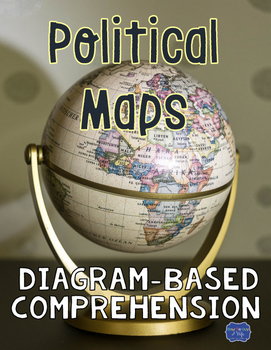 Political Maps Diagram with Comprehension Questions