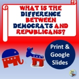 What is the Difference Between Democrats & Republicans?  Print & Digital