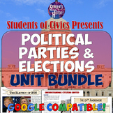 Political Parties & Elections: American Government & Civics Unit