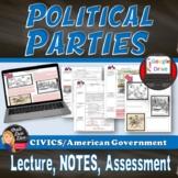 Political Parties   Lecture & Cartoon Analysis   underwaterdeals