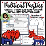 Political Parties: Notes,Quiz, and Make your Own Party