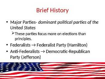 Political Parties PowerPoint