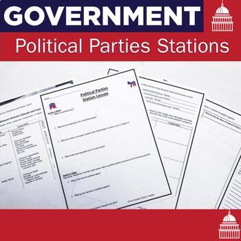 Political Parties -5 Station Lesson