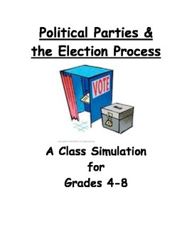 Political Parties & the Election Process:  A Class Simulation