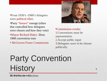 Political Partiy Unit Notes
