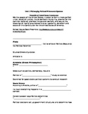 Political Philosophy, Political & Economic Systems Note Sheet