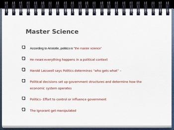 Political Philosophy, Political & Economic Systems PowerPoint