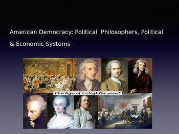 Political Philosophy, Political & Economic Systems PowerPoint