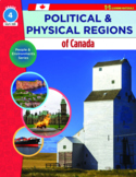 Political & Physical Regions of Canada Grade 4:  People &