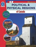 Political & Physical Regions of Canada Gr. 4 (enhanced ebook)