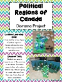 Political Regions of Canada- Diorama Project
