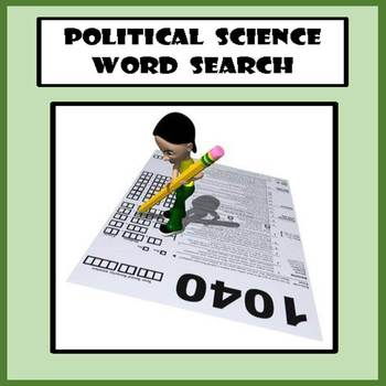 Political Science / Government Word Search
