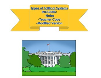 Political Systems - Types of Government Notes