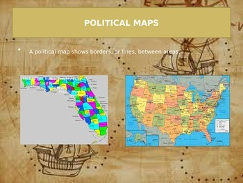 Political and Physical maps